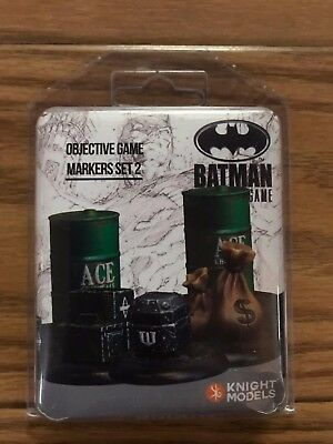 Knight Models DC Universe: Accessories Objective Game Markers Set 2 Resin