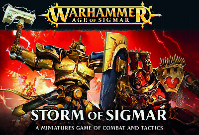 Warhammer - NEW - Storm of Sigmar - FREE SHIPPING!