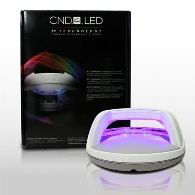 CND LED LAMP Cures Shellac & Brisa Professional Curing LED Lamp Light Nail Dryer