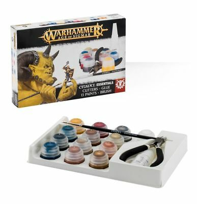 Warhammer - NEW - Age of Sigmar: Citadel Essentials Set - FREE SHIPPING!