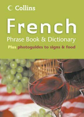 Collins French Phrase Book and Dictionary (Phrasebook & Dictio... Paperback Book