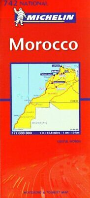 Morocco 2003 (Michelin National Maps) Sheet map, folded Book The Cheap Fast Free