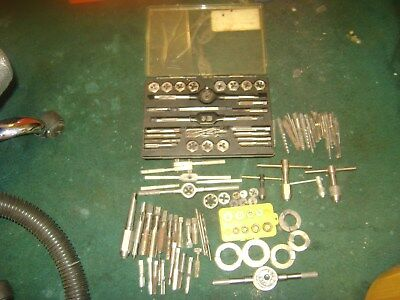 Vintage Craftsman/greenfield/others  Tap And Die Kits-All U.s. Made