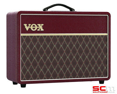 VOX AC10C1 limited edition maroon bronco all tube electric guitar amp combo