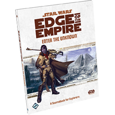 RPG - Star Wars: Edge of the Empire RPG - Enter the Unknown NEW!