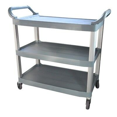 NEW Polypropylene Trolley, 3-Tier With Castors, 890x510x845mm high Adelaide