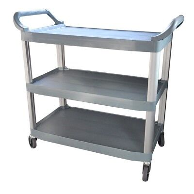 NEW Polypropylene Trolley, 3-Tier With Castors, 890x510x845mm high Gold Coast