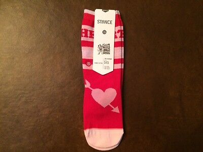 STANCE Heart Breaker Ankle Biters Kids' Socks - Size Youth M - 11 to 1 - NEW!