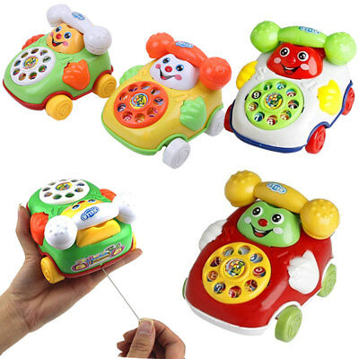 Baby Toys Music Cartoon Phone Mobile Educational Learning Kids Gifts Toy UK