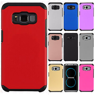 For Samsung Galaxy S8 Active HARD Astronoot Hybrid Rubber Case Phone Cover