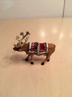 Cow Parade 2002 Moodolph Miniature Figurine #7571 New in Box & Hard to Find