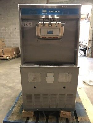 Taylor Commercial Yogurt Ice Cream Soft Serve Machine Y754-33 3 Phase Water