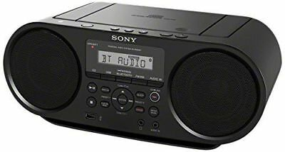 Sony ZSRS60BT CD Boombox W/ Bluetooth, NFC, AM/FM, USB, Headphone/Line-in Jacks