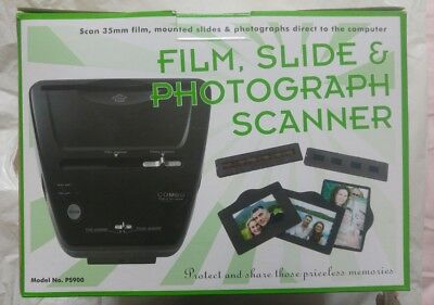 Film, Slide and Photo Scanner - Combo PS900