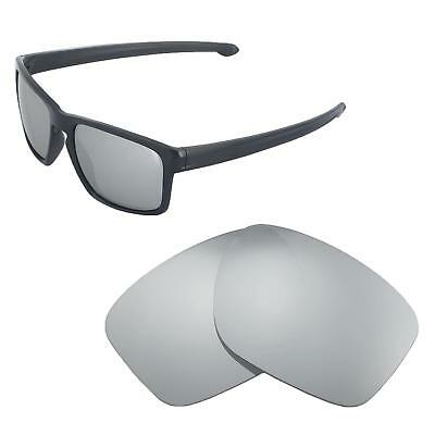 ff5453816e New Walleva Titanium Polarized Replacement Lenses For Oakley Sliver  Sunglasses
