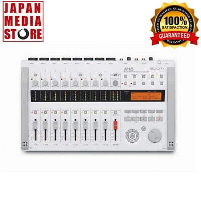 Zoom R16 Digital Interface Controller Recorder 16 tracks 100% Genuine Product