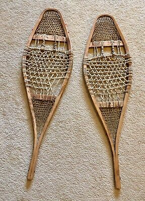 Antique North American snowshoes