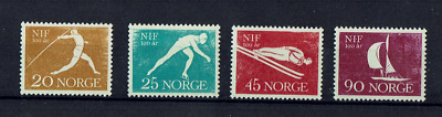Norway stamps1961 Sports 485 - 488 MUH