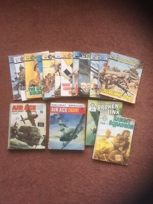 Commando x 12 and Air Ace x 4 Mixed Lot
