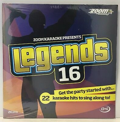 Zoom Karaoke Legends Series CD+G - Volume 16 - Bob Dylan, Donovan, Cat Stevens