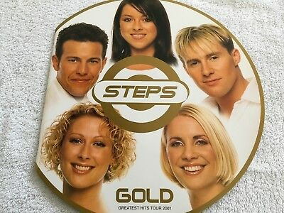 Steps Official Gold Greatest Hits Tour Programme