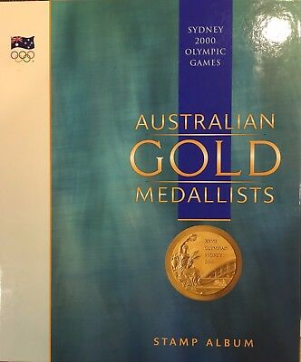 Sydney 2000 Olympic Games Australian Gold Medallists - Official Stamp Album