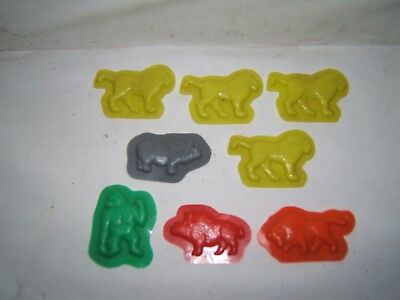 Cereal Toys - Molds of Animals