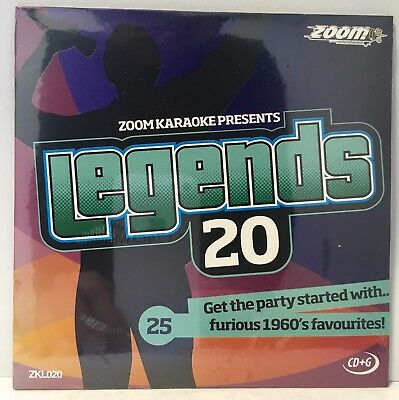 Zoom Karaoke Legends Series CD+G - Volume 20 - Hits of Billy Fury