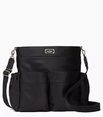 KATE SPADE BLAKE  AVENUE ADAMSON  BLACK BABY BAG-NEW WITH TAG Black