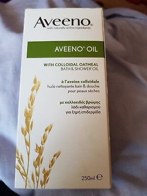 Aveeno bath and shower oil - BRAND NEW