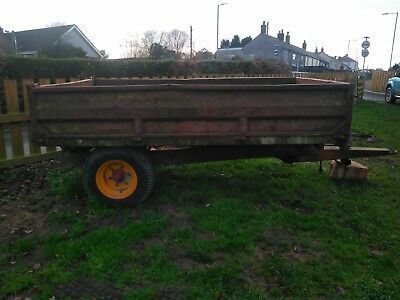 Marshall tipping trailer muck hay equestrian
