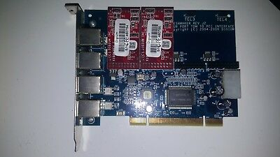 Digium Wildcard TDM400P with 2 x FXO Cards