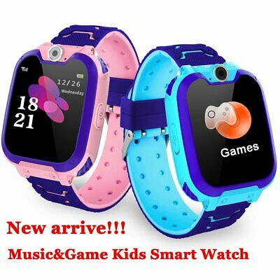 Kids Anti-lost GPS Tracker Locator SOS Call Remote Smart Watch For Android IOS