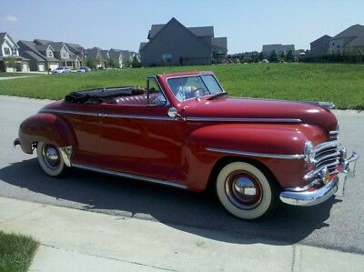 1947 Plymouth Special Deluxe Convertible 1947 Plymouth convertible
