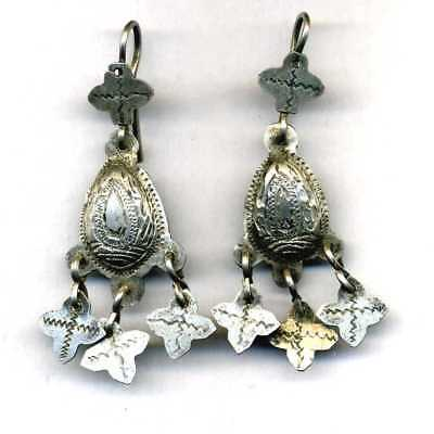 Morocco - Ancient silver earrings
