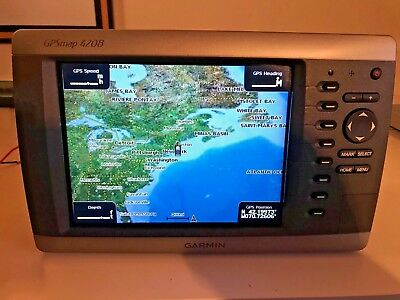 GARMIN GPSMAP 4208 Marine GPS with Suncover and WARRANTY!