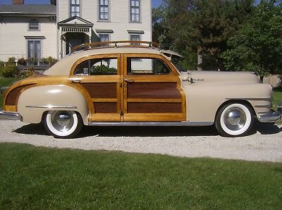 1948 Chrysler Town & Country Woodie 1948 Chrysler Town & Country Four Door Sedan