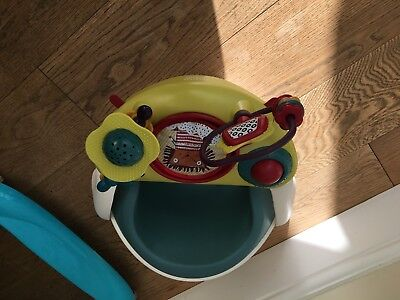Mamas & Papas Snug Booster Seat With Detachable Activity Play Tray RRP £49