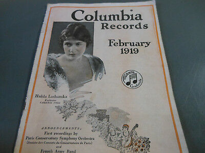 Columbia Records catalog Feb. 119