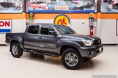 2014 Toyota Tacoma Base Crew Cab Pickup 4-Door 2014 Gray We Finance at 2.9% w.a.c Apply Today