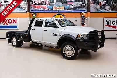 2013 Ram 4500 Tradesman 4X4 FLATBED 2013 White Tradesman 4X4 FLATBED We Finance at 2.9% w.a.c Apply Today