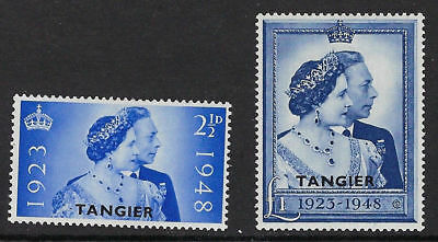 Tangier stamps 1948. The silver wedding set MNH