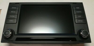 Wie Neu MEDIA Display Navi LCD SEAT LEON 4 Monitor Bildschirm  5F0919604 A