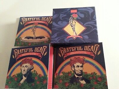 Grateful Dead live 6 cd box set RFK Stadium 7/12-13/89