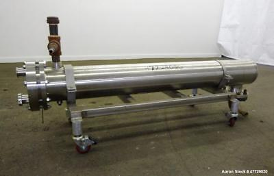"""Used-Enerquip Shell And Tube """"U-Tube"""" Heat Exchanger, Approximately 40 Square Fe"""