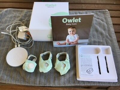 Owlet baby monitor and smart socks - gently used