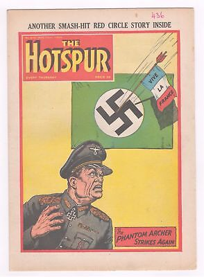 The Hotspur Comic - No 876 - 22nd Aug 1953 -  LOVELY COPY SCARCE!