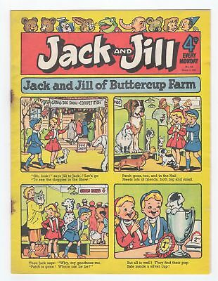 Jack and Jill Comic - No 54 -  5th March 1955 -  SCARCE!