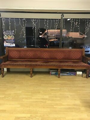 Church Pew approx 9ft long