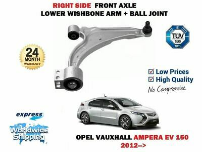 For Opel Vauxhall Ampera Ev 150 2012> Right Wishbone Suspension Arm + Ball Joint